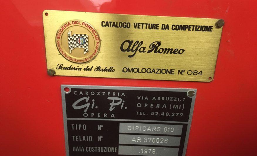 ALFA ROMEO GIULIETTA SPIDER PROTOTIPO